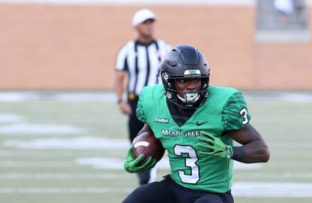 Mean Green RB Jeffery Wilson has rushed for over 500 yards through four games this season. Photo Courtesy: Dominic Ceraldi