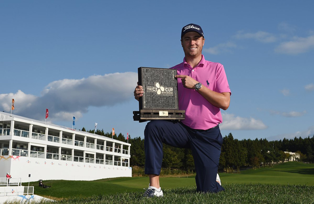 Justin Thomas capped his breakout year on the PGA Tour by winning the CJ Cup in South Korea. Photo Courtesy: @PGATour Twitter Account