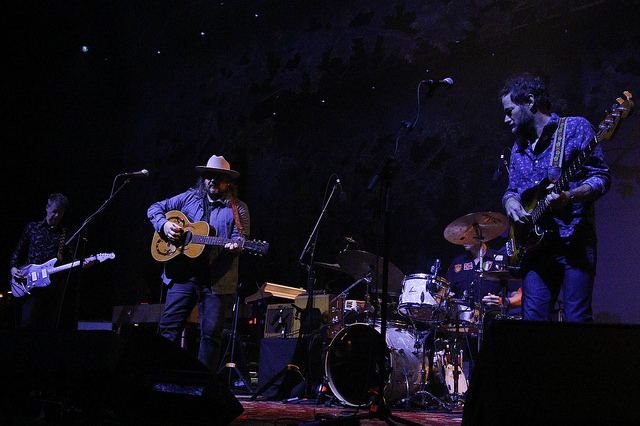 Wilco made it a night to remember at the Toyota Music Pavilion. Photo Courtesy: Michael Kolch