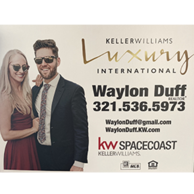 Waylon Duff Keller Williams Luxury Real Estate Space Coast