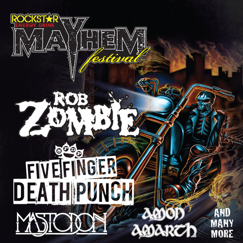 Rockstar Energy Drink Mayhem Festival 2013