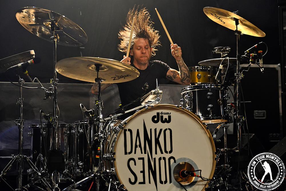 DANKO JONES - Live at The Palladium (Dallas, TX) - March 6th, 2013 | James Villa Photography © 2013 On Tour Monthly LLC