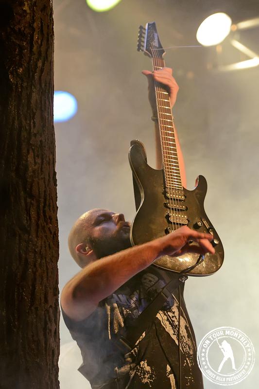 SOILWORK - Live at Trees (Dallas, TX) - April 2013   James Villa Photography © 2013 On Tour Monthly LLC