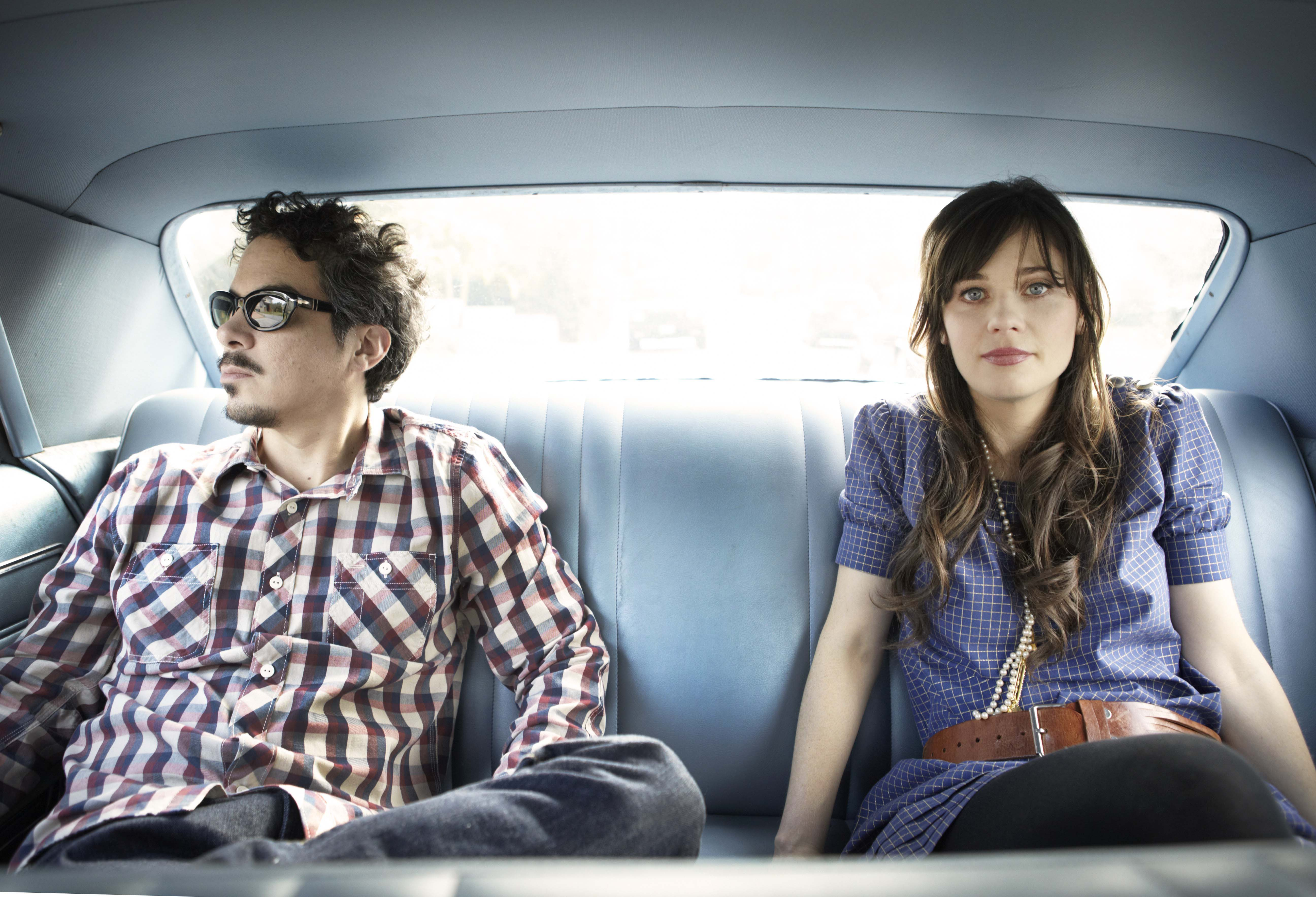 She and Him - Photo by Sam Jones