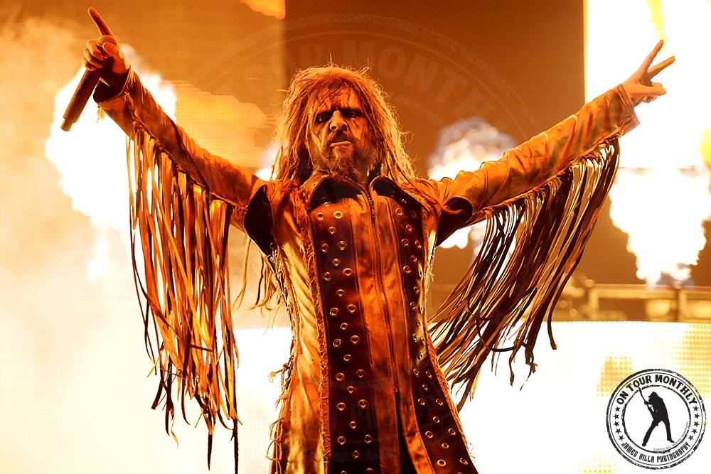 Rob Zombie (Gexa Energy Pavilion - Dallas, TX) 8/04/13 ©2013 James Villa Photography, All Right Reserved