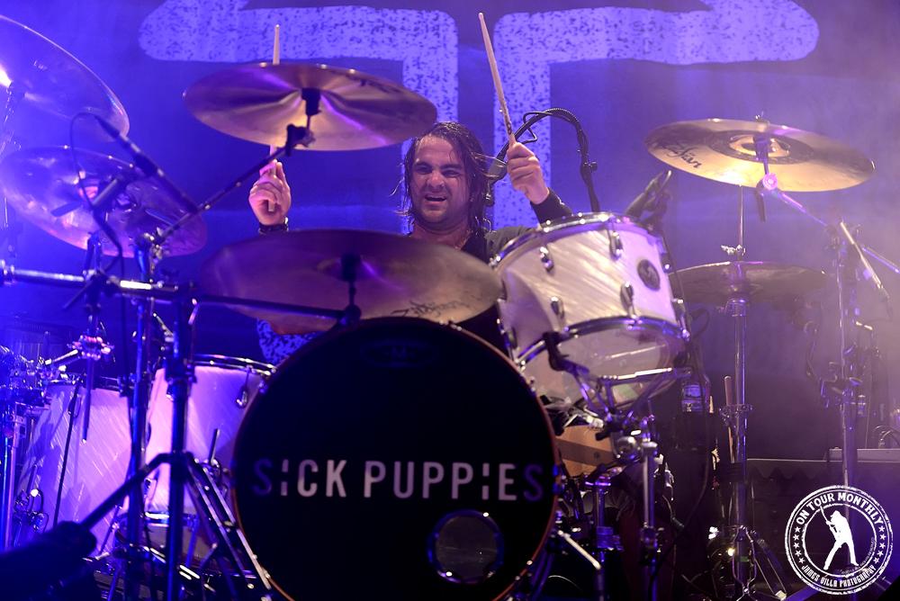 Sick Puppies (House of Blues Dallas, 9.17.13) // James Villa Photography 2013