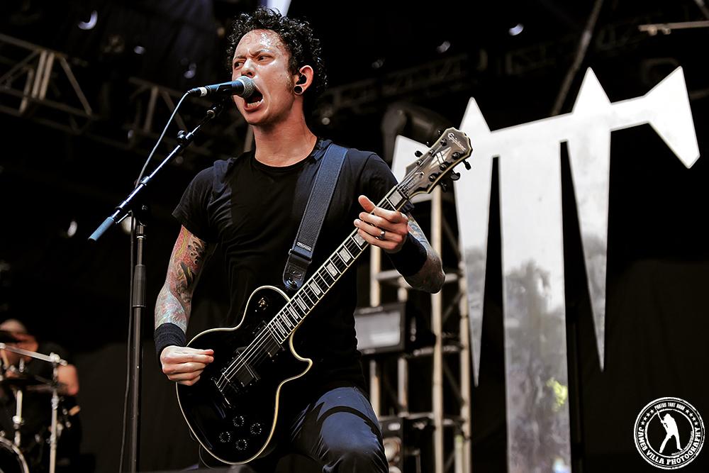 Matt Heafy - Trivium / Trespass America Tour (Zoo Amphitheater, Oklahoma City, OK) 8/24/12