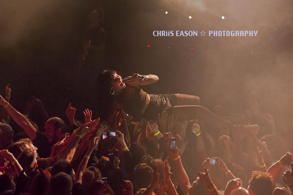 Sleigh Bells (Granada Theater, Dallas, TX) - Chris Eason Photography