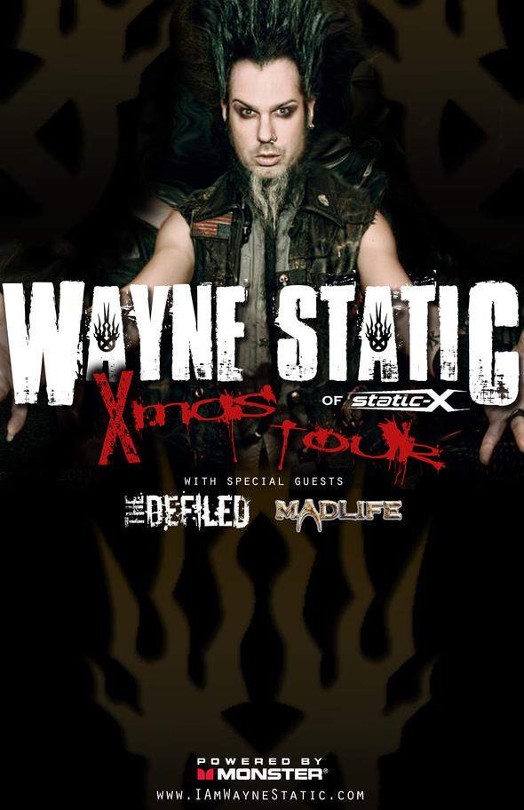 Wayne Static Xmas Tour 2013
