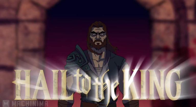 Hail to the King Machinima
