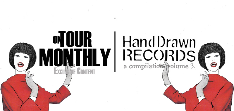Hand Drawn Records. A Compilation. Volume 3. // Artwork by Dustin Blocker