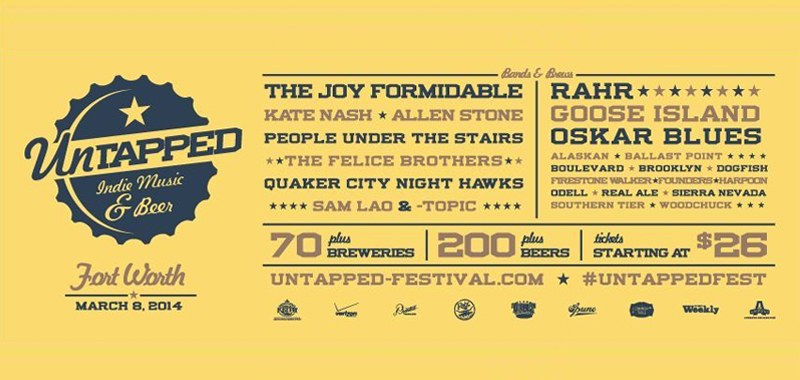 Untapped Fort Worth: Saturday, March 8, 2014