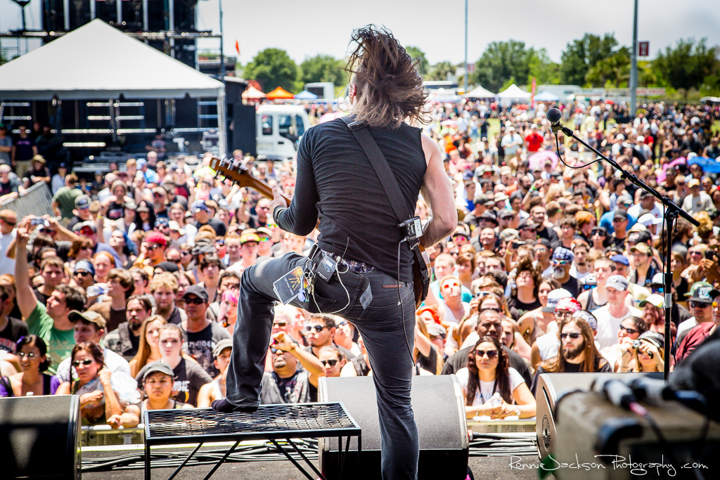 Mark Vollelunga - Nothing More - Fort Rock 2014