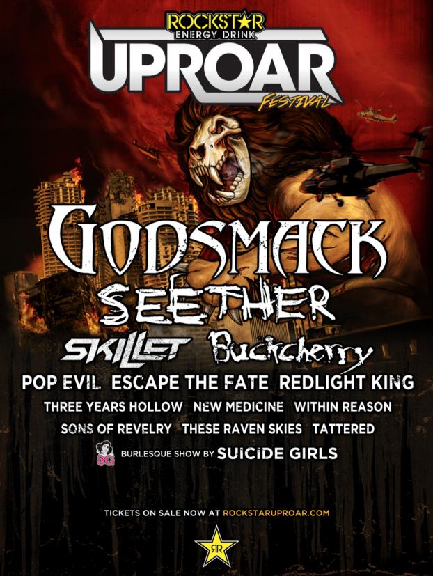 Rockstar Energy Uproar Festival 2014