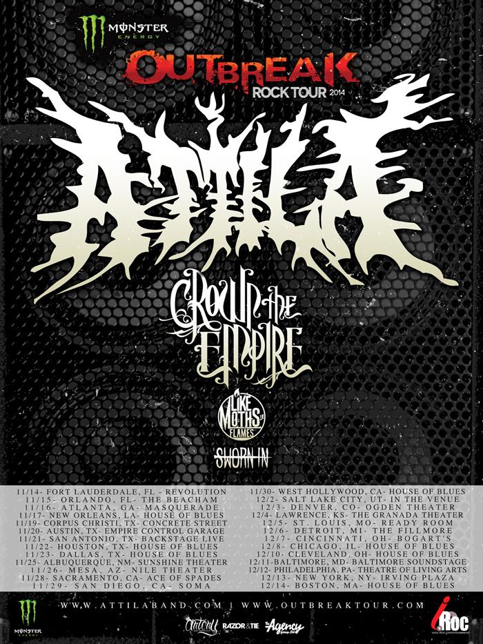 Monster Energy Breakout Tour 2014