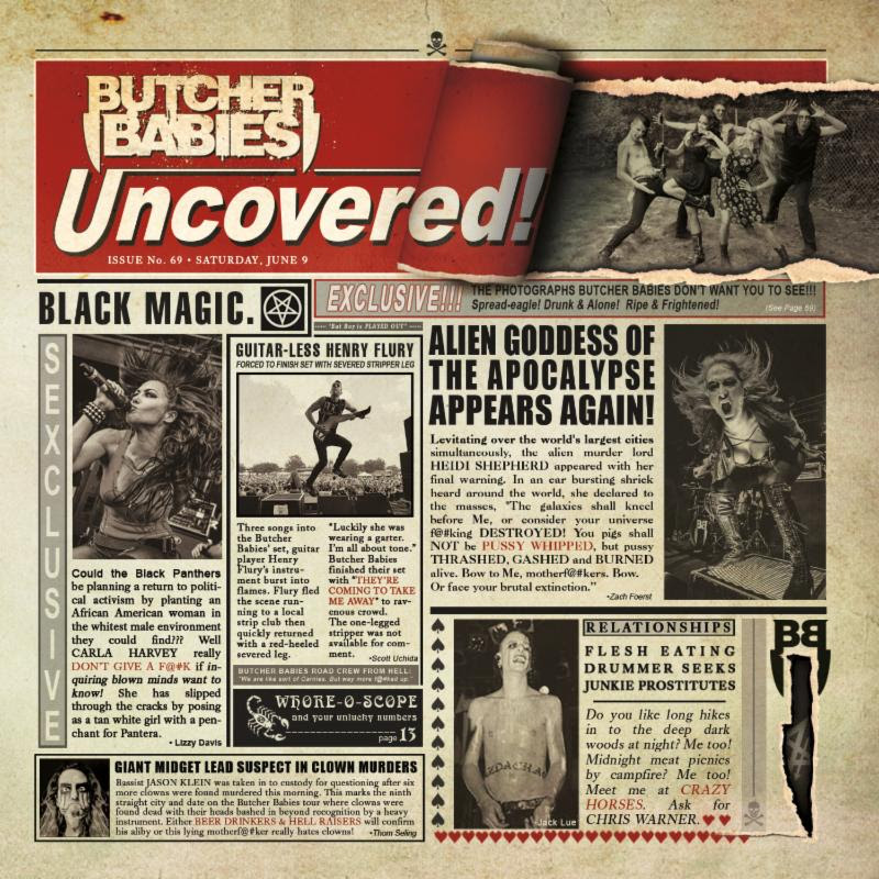 Uncovered EP by Butcher Babies