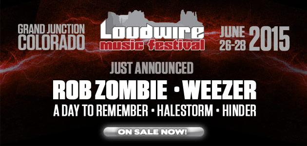 Loudwire Music Festival Artwork