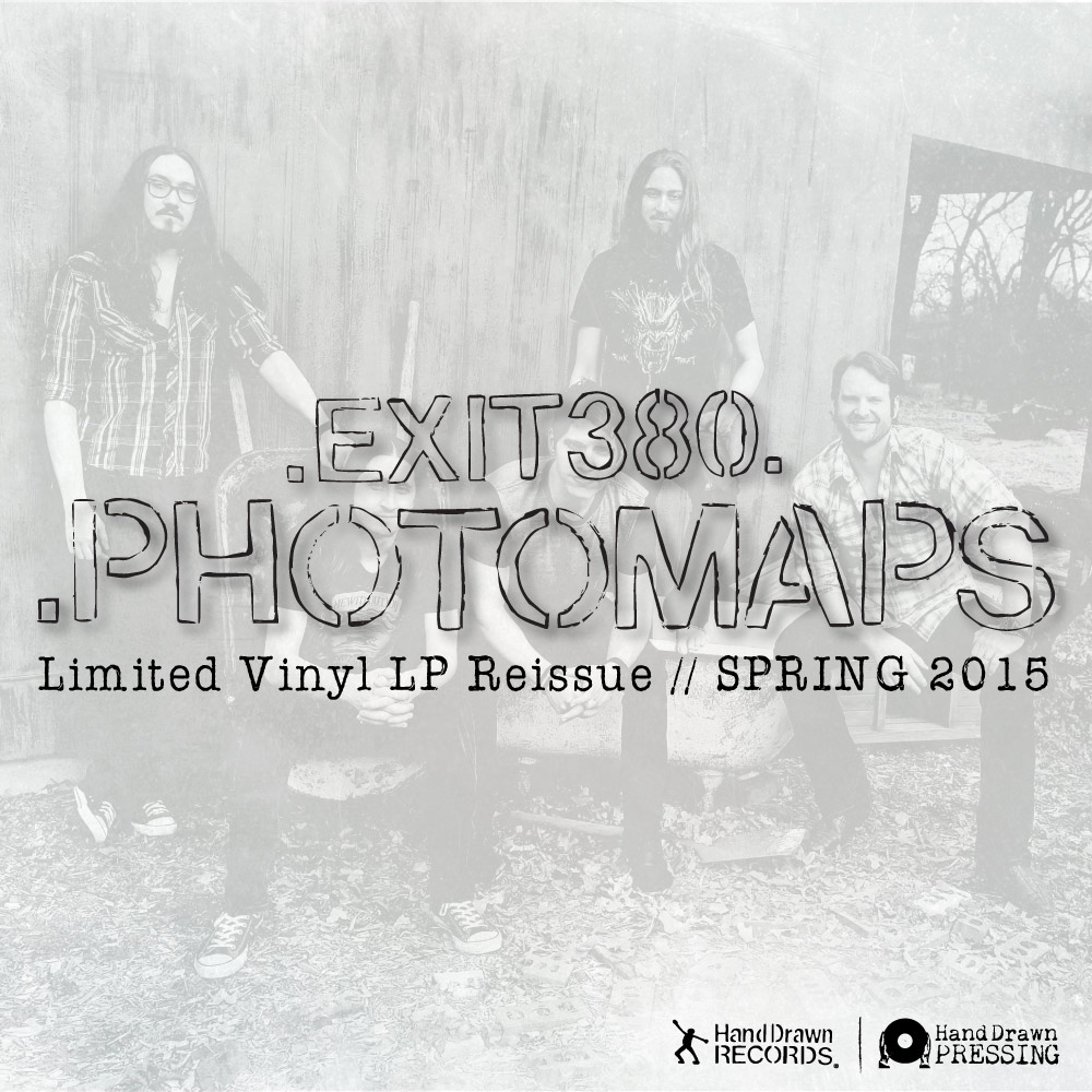 """""""Photomaps"""" by Exit 380 // Limited Vinyl LP Reissue // Spring 2015"""