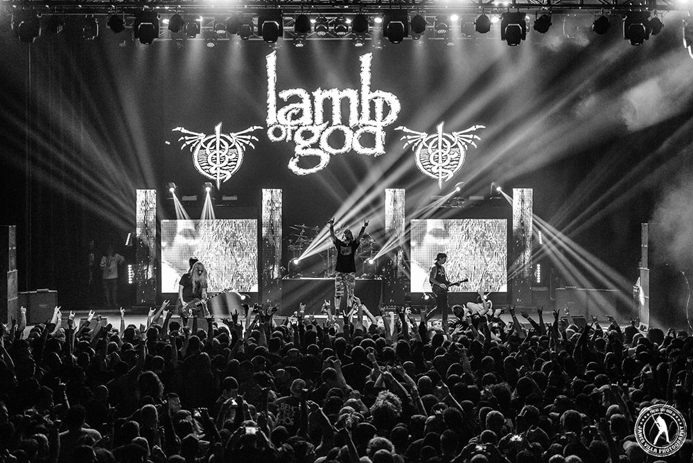 Randy Blythe - Lamb of God (The Bomb Factory - Dallas, TX) 2/05/16 ©2016 James Villa Photography, All Rights Reserved