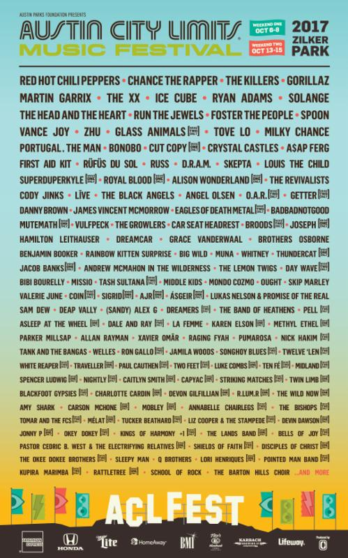 Austin City Limits 2017