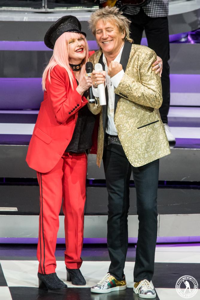Rod Stewart Cyndi Lauper