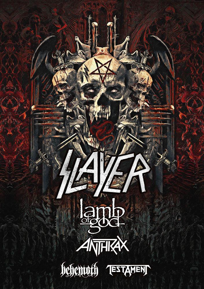 Slayer Final Tour 2018