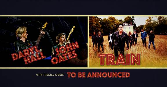 Hall and Oates with Train 2018