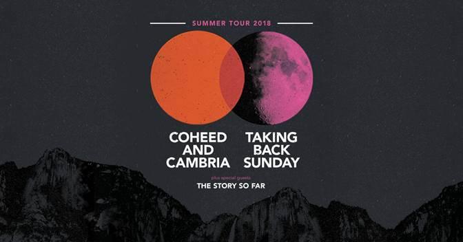 Coheed And Cambria 2018