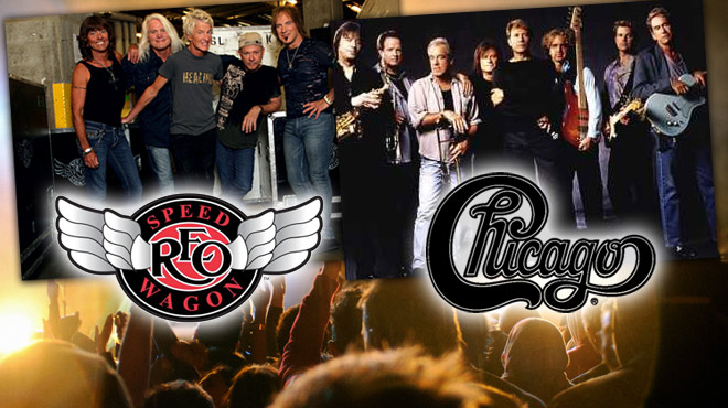 Chicago and REO Speedwagon 2018