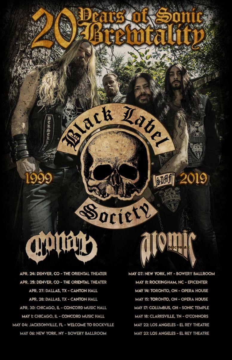 Black Label Society 2019