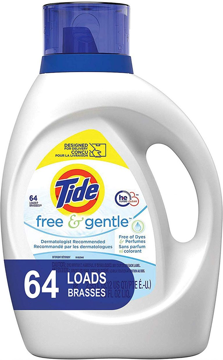 best detergent for HE washers