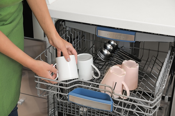 how to load an lg dishwasher