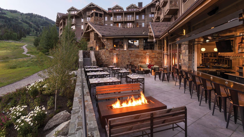 The Handle Bar at the Four Seasons Jackson Hole