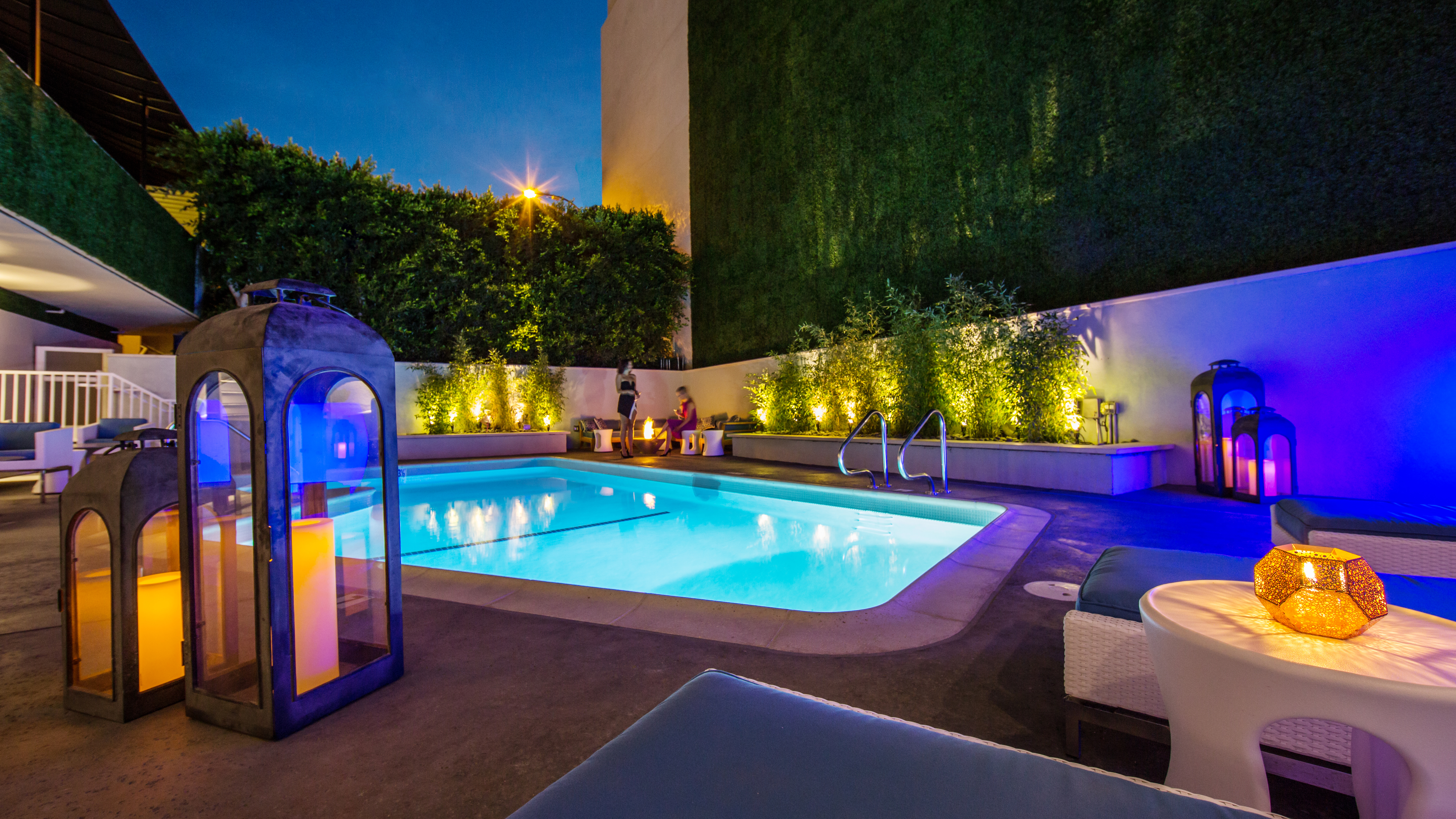 Pool & Deck at The Mosaic Hotel Beverly Hills