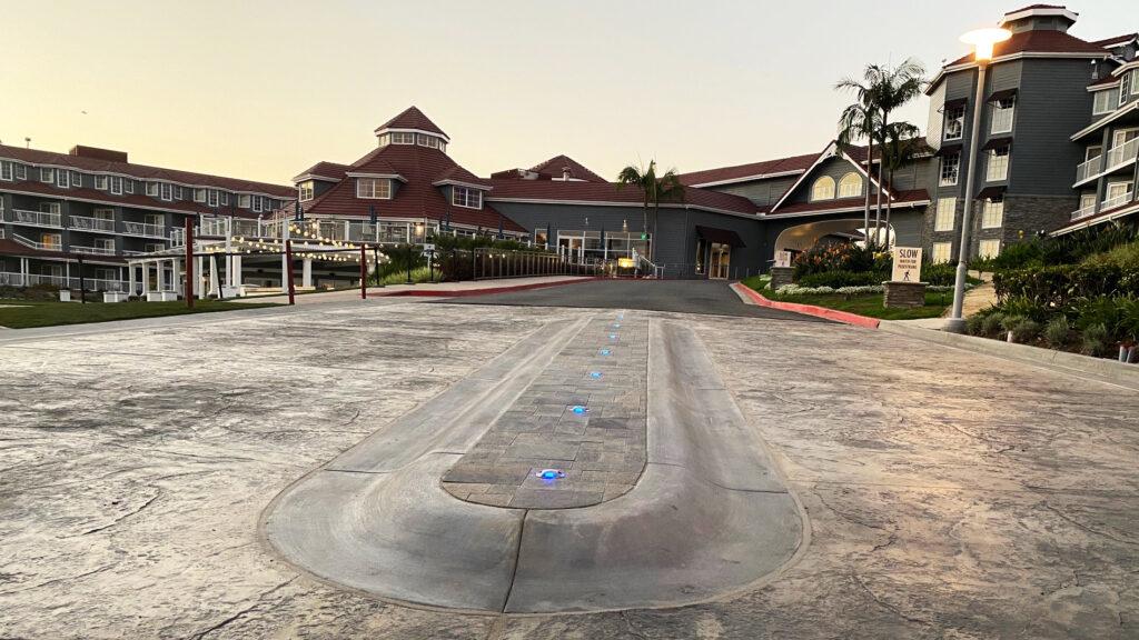 Laguna Cliffs Marriott Entry Drive