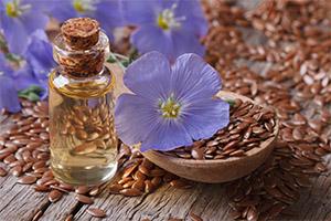 fun with flax oil, grain, flower