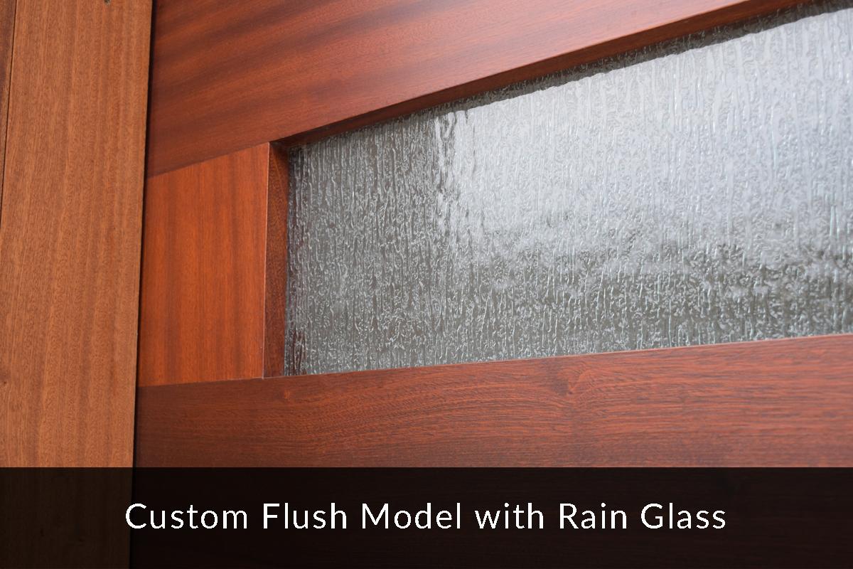 Everite Door - Rain Glass