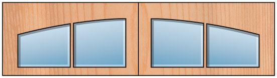 Everite Door - Long 2 Lite AR
