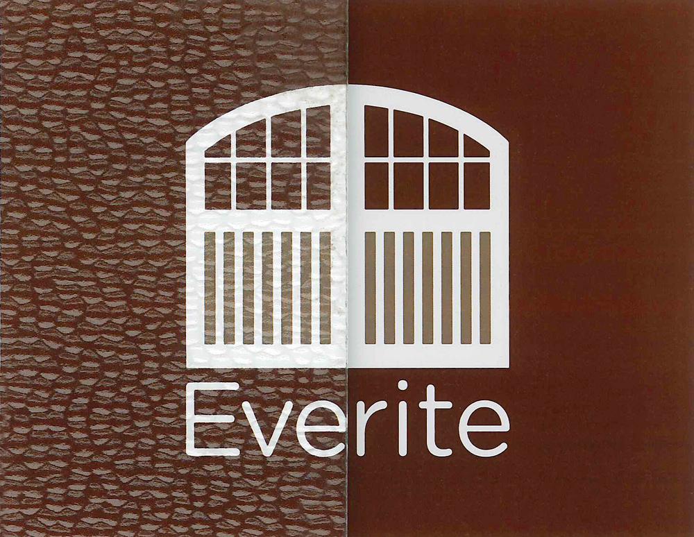 Everite Door - Hammered Glass