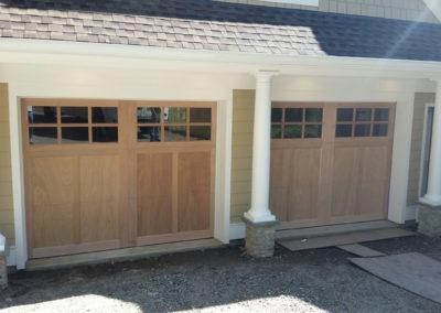 Morano Builder Series Somerset Model Stain Grade Wood 3 over 3 Lite Square Glass