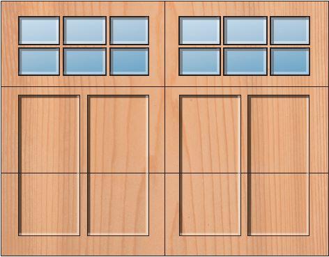 Everite Door - Somerset 3 OV 3 Square Lites