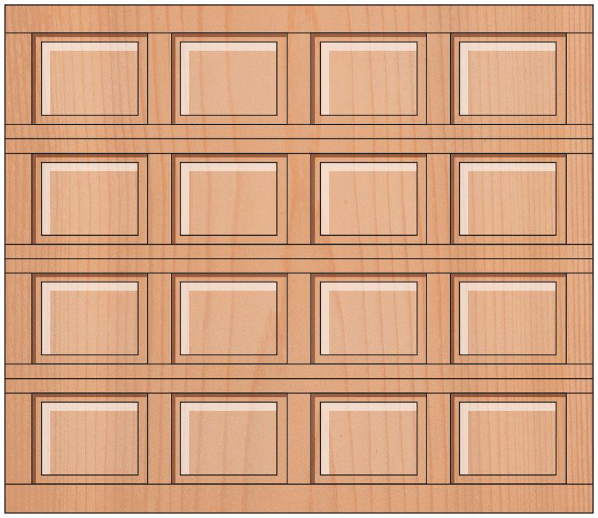Everite Door - Fulton Raised Panel Door