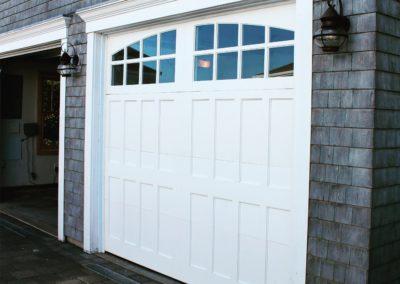 Cape Cod Semi-Custom Series Susquehanna Model 100% Versatex PVC 4 over 4 Lite Arch Glass
