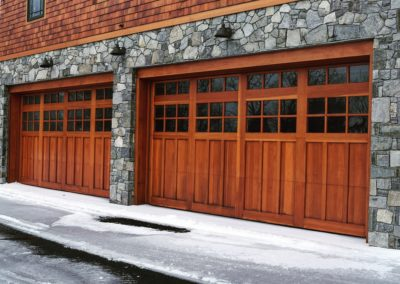 Charles River Custom Series Huntingdon Model Stain Grade Sapele Wood 3 over 3 over 3 Lite Square Glass