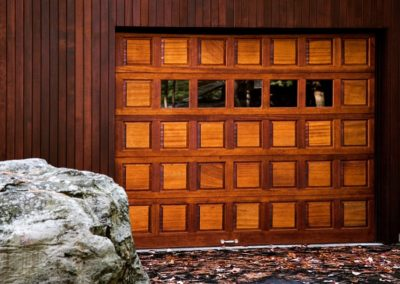 Fulton Traditional Series Raised Panel Model Stain Grade Wood 5 Lite Square