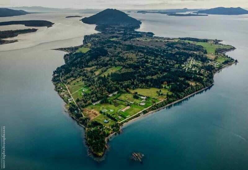 Lummi Island…