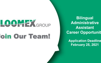 Join our Team! Bilingual Administrative Assistant Career Opportunity