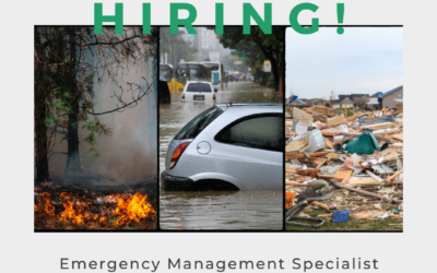 Now Hiring: Emergency Management Specialist