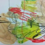 pencil-crayon-acrylics-on-paper-utekirkwood2014