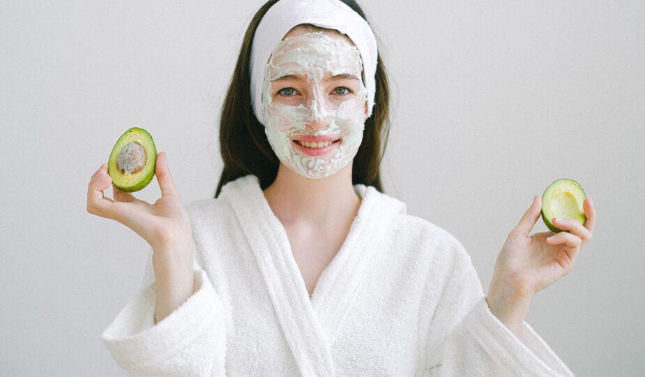 Avocado & Coconut Oil Face Mask For Wrinkles